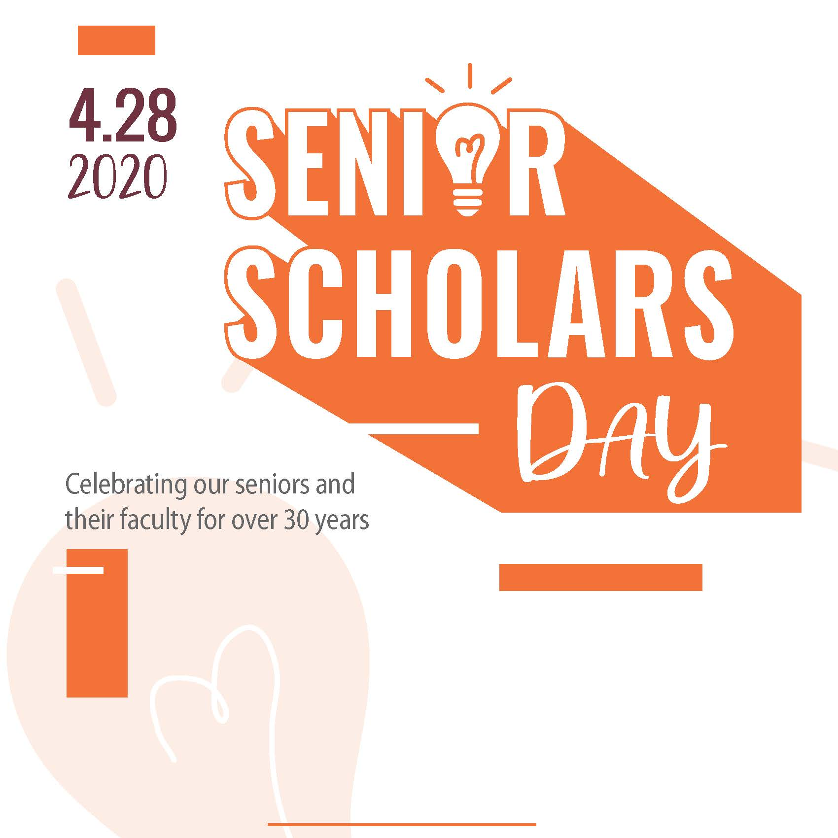 2020 Senior Scholars Day