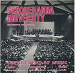 Department of Music Susquehanna University 1971 by James Steffy and Darius Milhaud